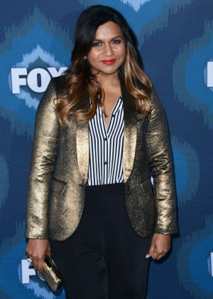 Mindy Kaling: 2015 Fox All-Star Party -11