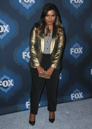 Mindy Kaling: 2015 Fox All-Star Party -12