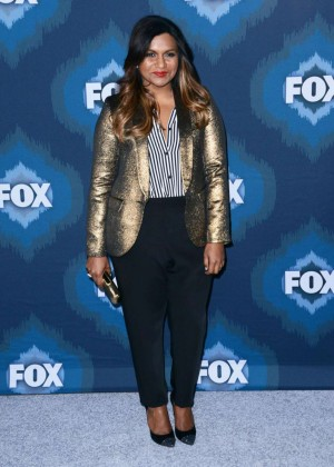 Mindy Kaling: 2015 Fox All-Star Party -13