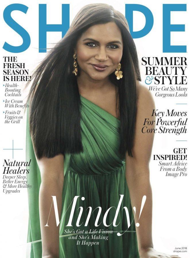 Mindy Kaling – Shape Magazine (June 2018)