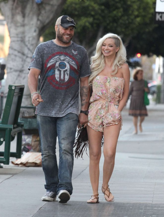 Mindy Robinson out in Beverly Hills -04