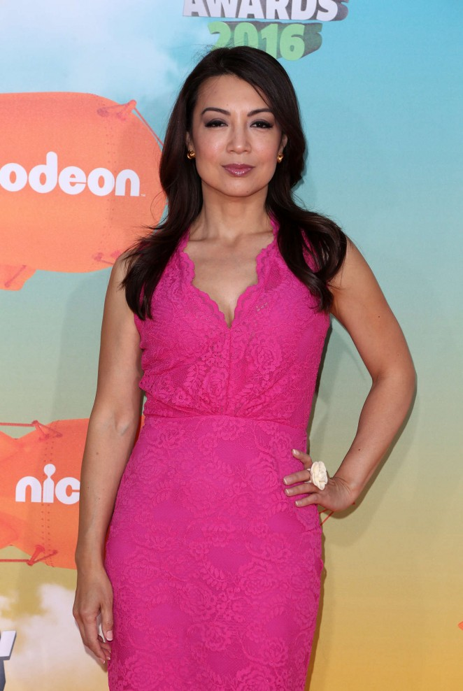 Ming-Na Wen - 2016 Nickelodeon Kids' Choice Awards in Inglewood