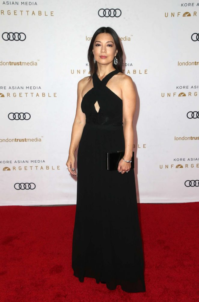 Ming-Na Wen – 2018 Unforgettable Gala in Los Angeles