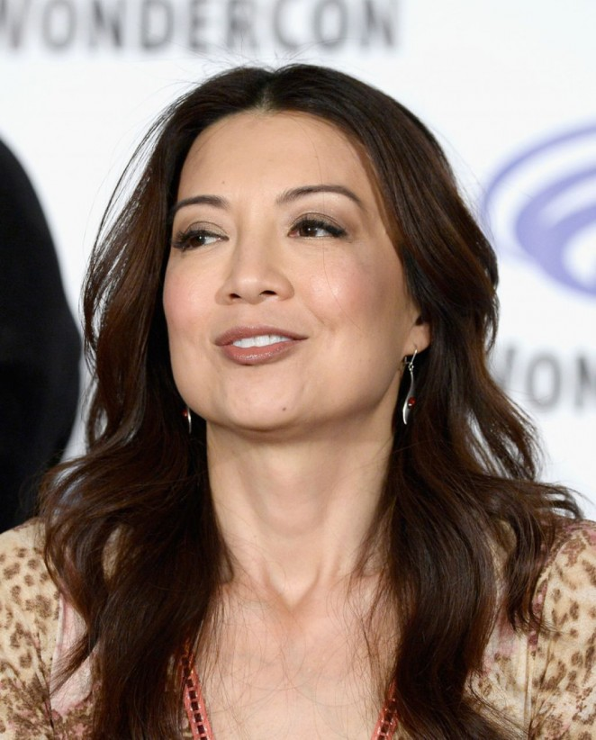 Ming-Na Wen - Agents of S.H.I E.L.D Panel at WonderCon 2016 in Los Angeles