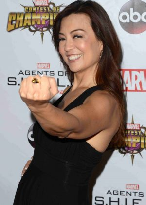 Ming-Na Wen - 'Agents of S.H.I.E.L.D.' Season 4 Premiere in Los Angeles