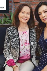 Ming-Na Wen and Nancy Kwan - The Hollywood Reporter Magazine (April 2019)