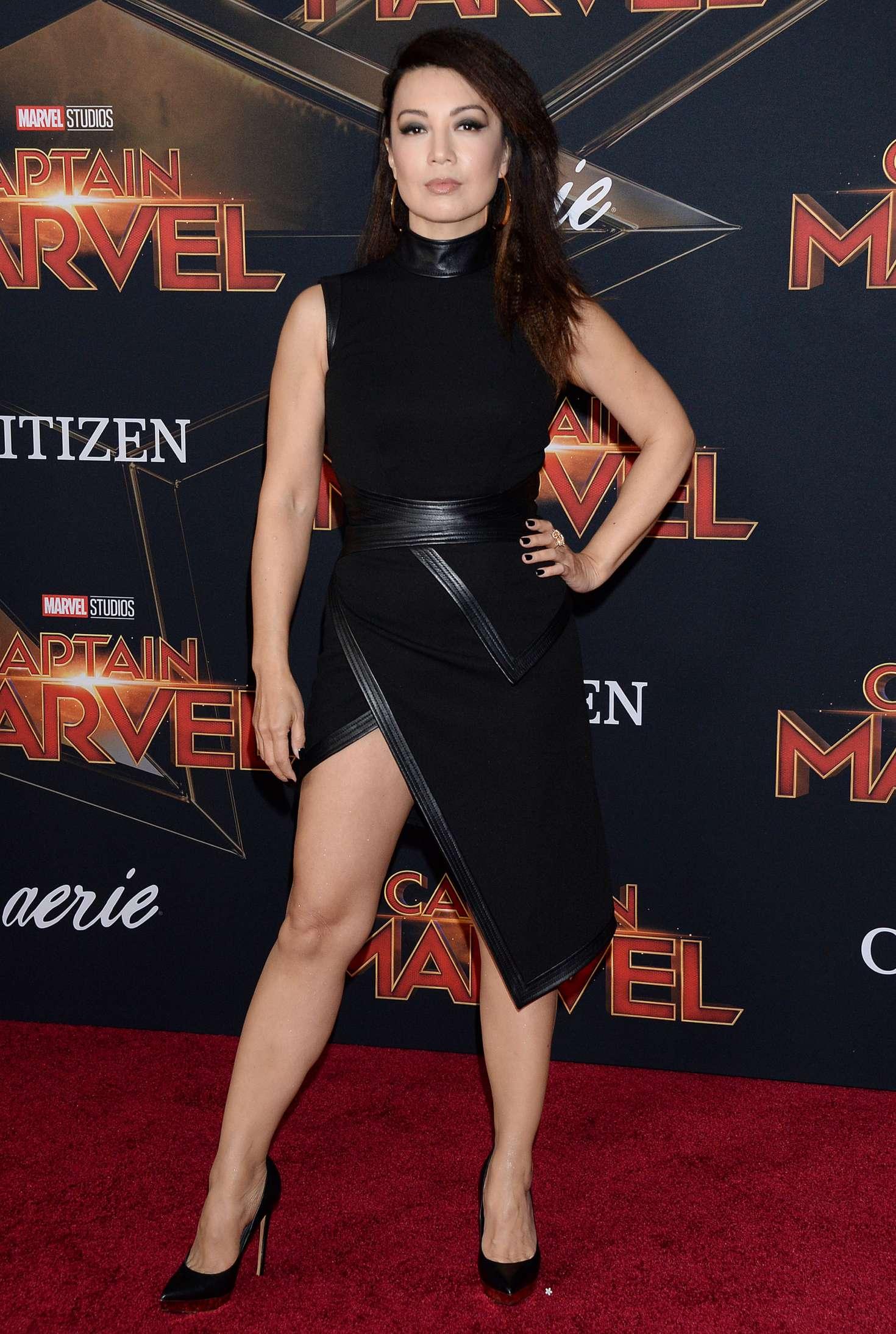 Ming-na Wen  Captain Marvel Premiere