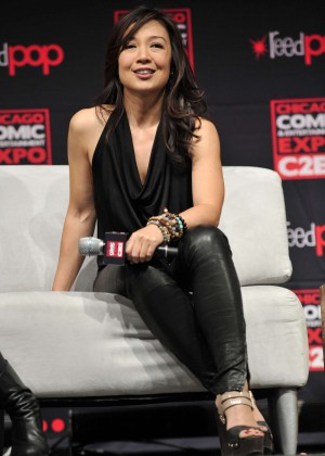 Ming-Na Wen - 2015 Chicago Comic & Entertainment Expo in Chicago