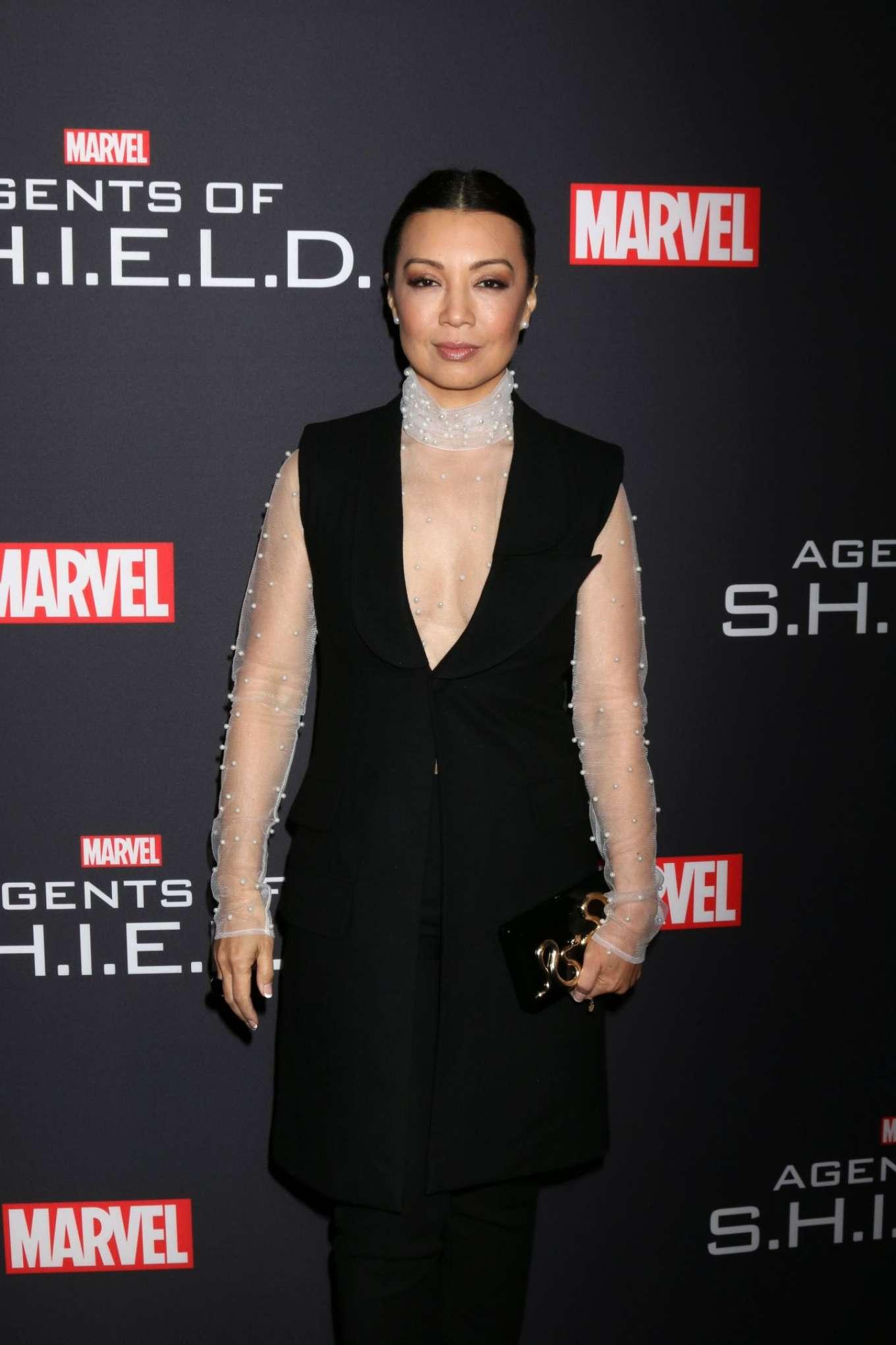 Ming-Na Wen - 'Marvel's Agents of S.H.I.E.L.D.' 100th episode celebration in Hollywood