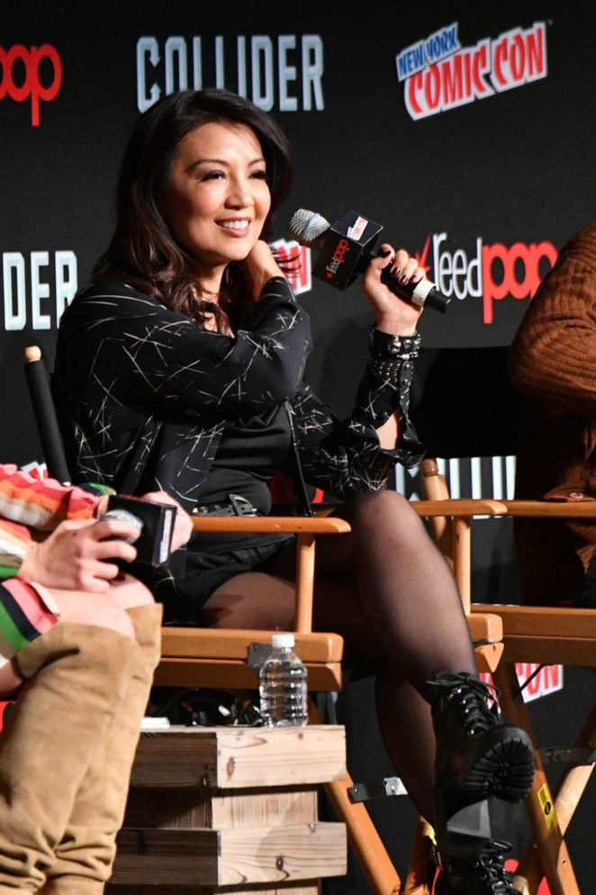 Ming-Na Wen - 'Marvel's Agents of S.H.I.E.L.D.' panel during 2017 New York Comic Con