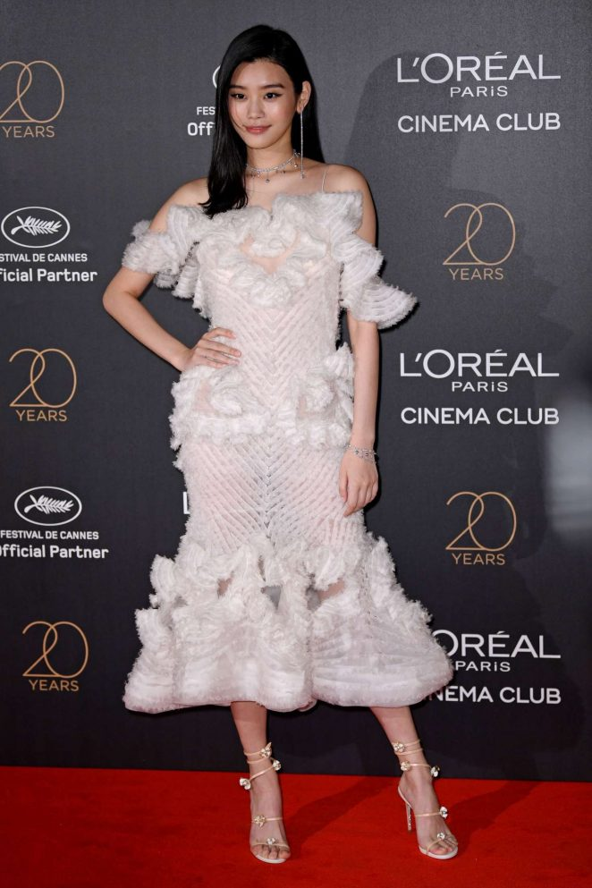 Ming Xi: LOreal 20th Anniversary Party in Cannes -02