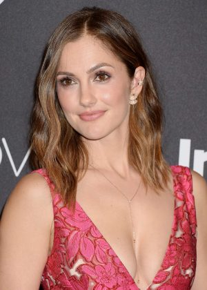 Minka Kelly - 2017 InStyle and Warner Bros Golden Globes After Party in LA