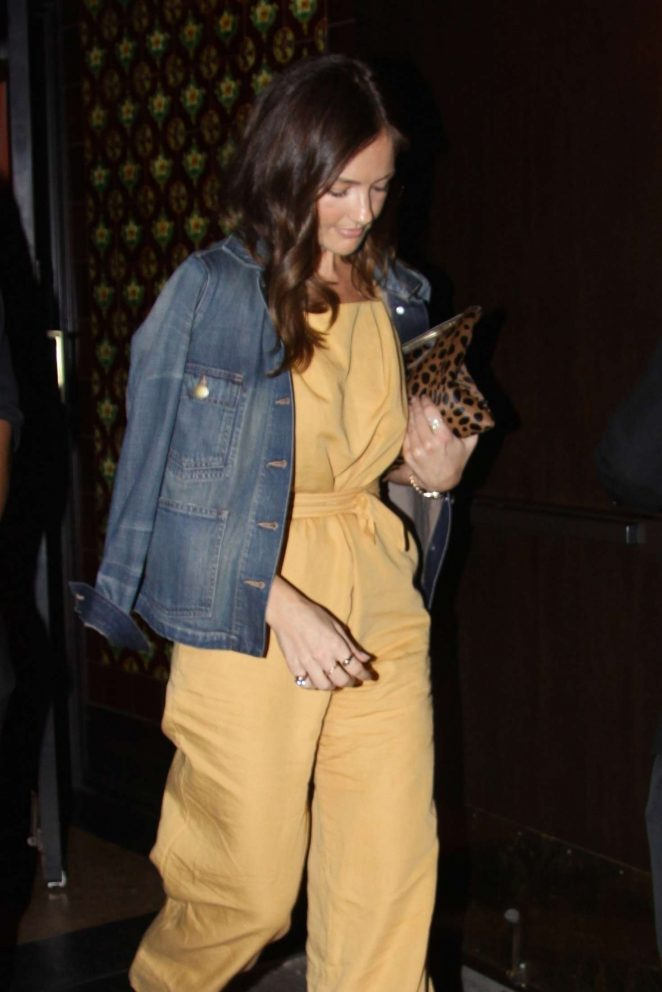 Minka Kelly at Largo in West Hollywood