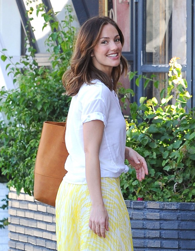 Minka Kelly at the Largo Theatre in West Hollywood