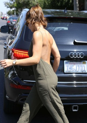 Minka Kelly at the Zimmerman Store in West Hollywood