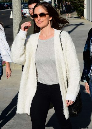 Minka Kelly - Attends The United Talent Agency Voices Rally in LA
