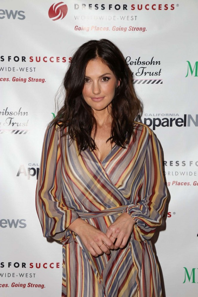Minka Kelly - 'Dress for Success, Shop for Success' VIP Shopping Event in Beverly Hills