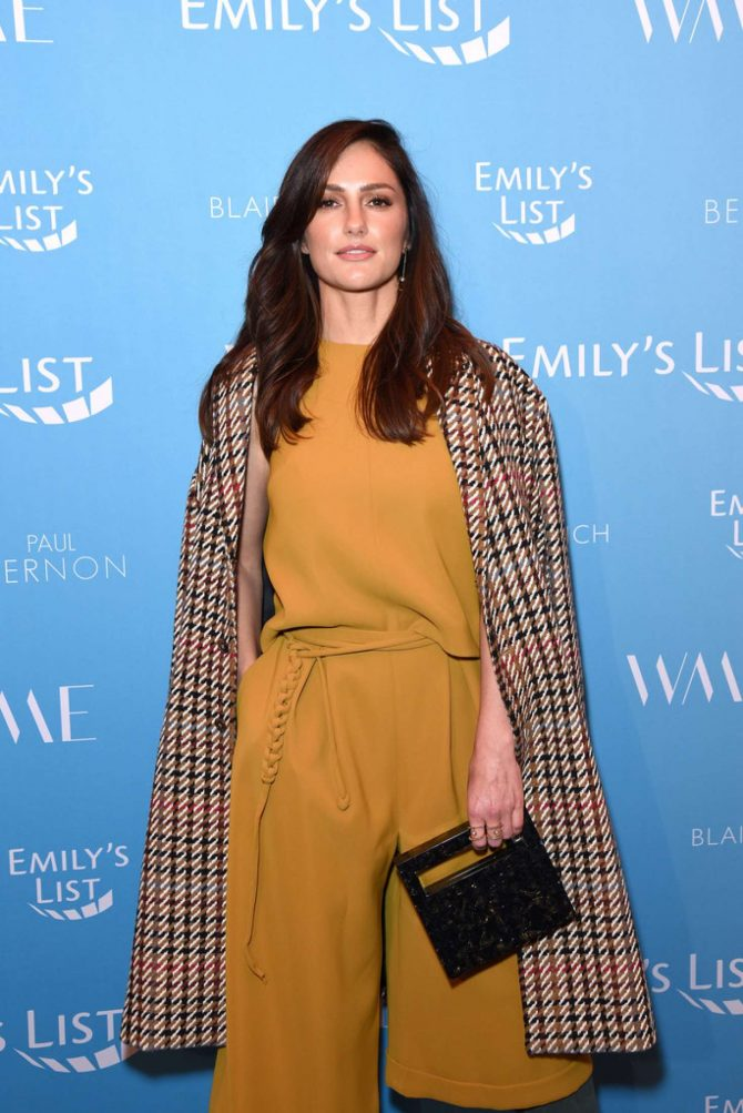 Minka Kelly - EMILY's List 2nd Annual Pre-Oscars Event in Los Angeles