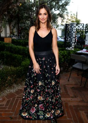 Minka Kelly - FashionABLE Equal Pay Day kick-off dinner in Los Angeles