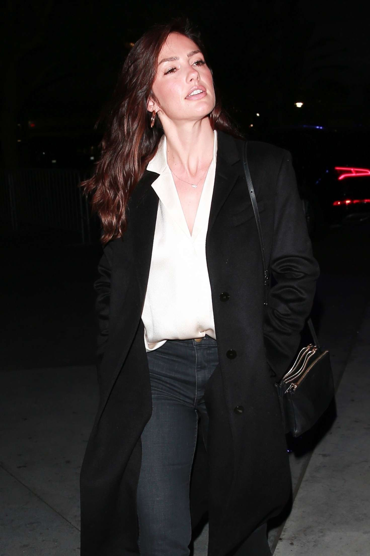 Minka Kelly - Heading to the Elton John Concert at the Staples Center in LA