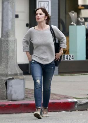 Minka Kelly in tight jeans out in LA