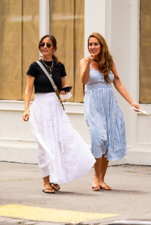 Minka Kelly - is spotted in New York City