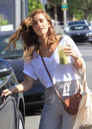 Minka Kelly - Leaving Urth Caffe in West Hollywood