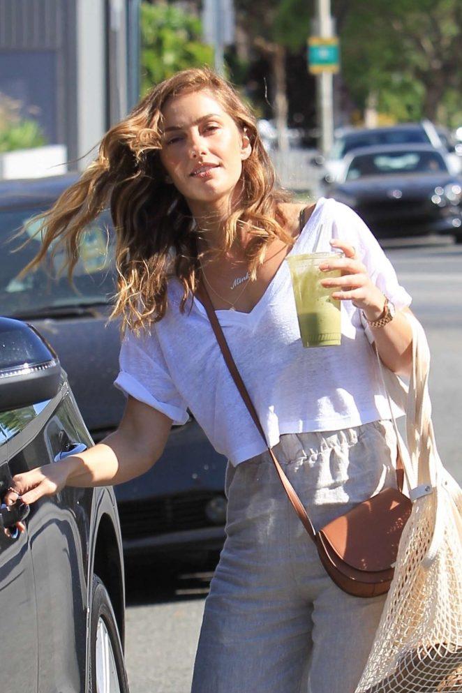 Minka Kelly - Leaving Urth Caffe in West Hollywood