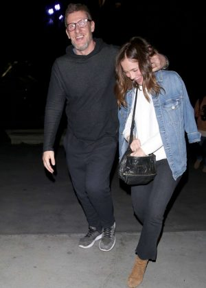 Minka Kelly Night Out in West Hollywood