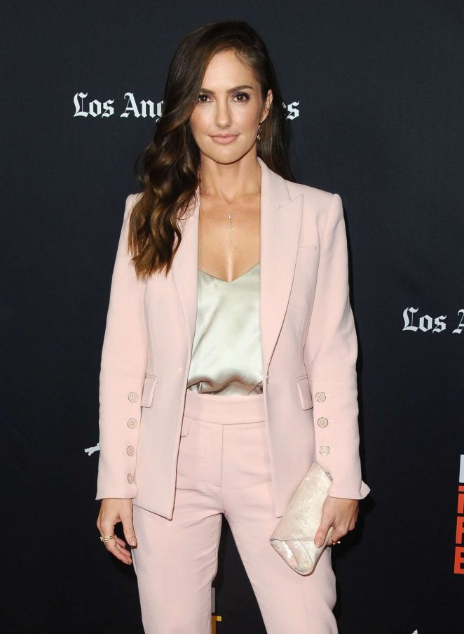 Minka Kelly - 'Nomis' Premiere at 2018 LA Film Festival