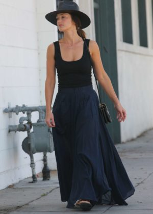 Minka Kelly - Out and about in Beverly Hills