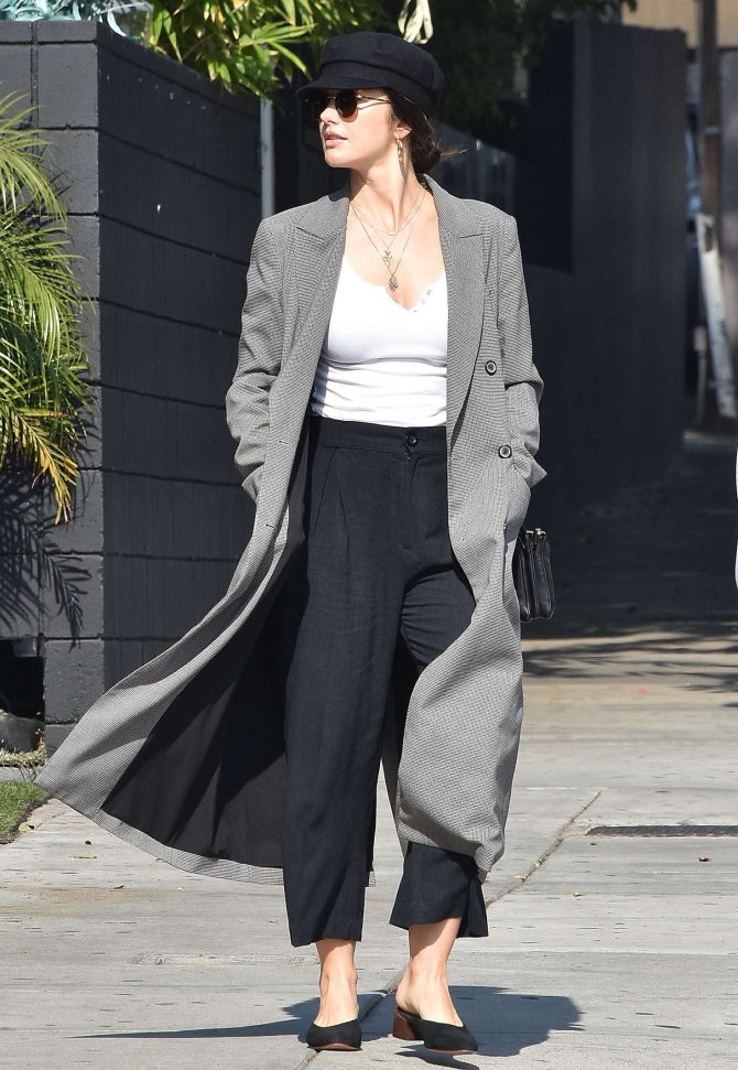 Minka Kelly - Out and about in Los Angeles