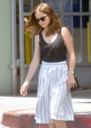 Minka Kelly - Out and about in West Hollywood