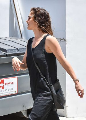 Minka Kelly out in Los Angeles