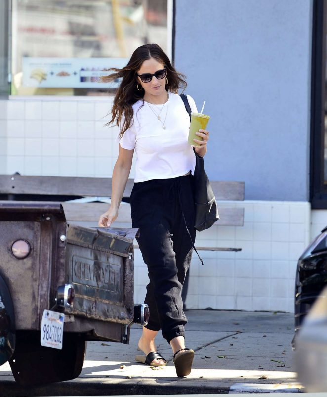 Minka Kelly - Out in Los Angeles