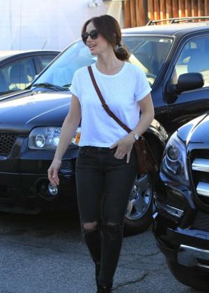 Minka Kelly in Ripped Jeans -05