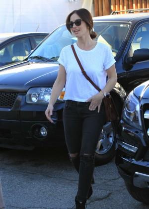 Minka Kelly in Ripped Jeans -09