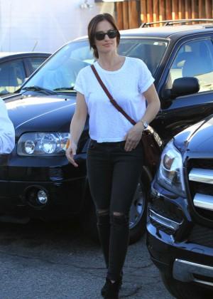 Minka Kelly in Ripped Jeans -13