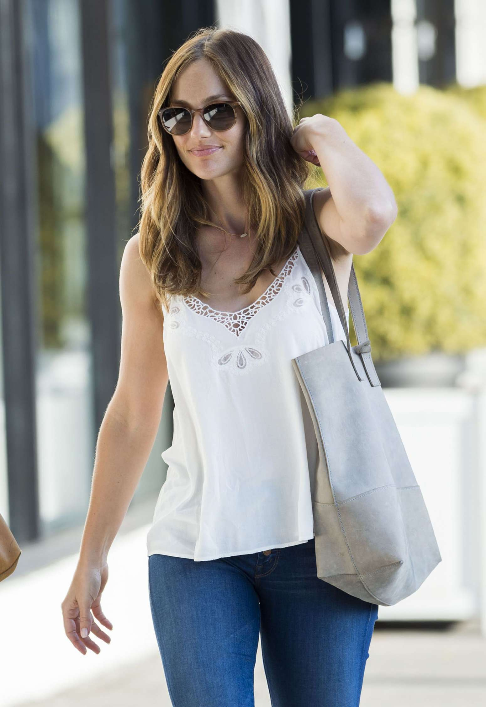Minka Kelly - out in West Hollywood