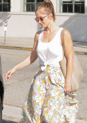 Minka Kelly Out Shopping in Beverly Hills