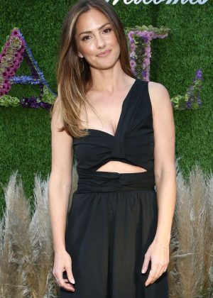 Minka Kelly - Palisades Village A.L.C. Dinner in Los Angeles