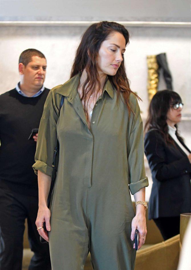 Minka Kelly - Shopping at Barney's New York in Beverly Hills