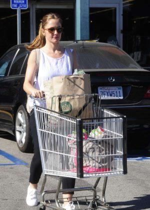Minka Kelly Shopping in West Hollywood