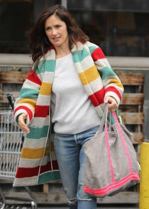 Minka Kelly - Shopping in West Hollywood