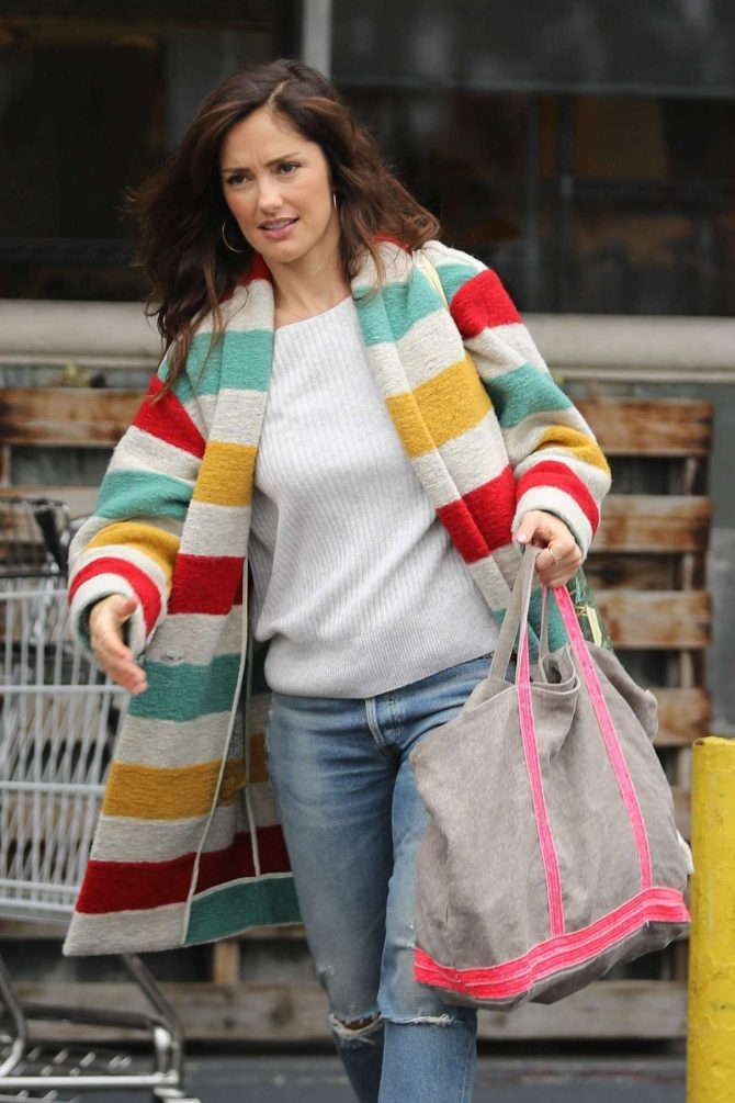 Minka Kelly – Shopping in West Hollywood
