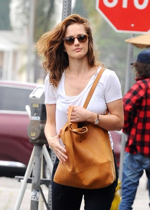 Minka Kelly Street Style - Out and about in LA