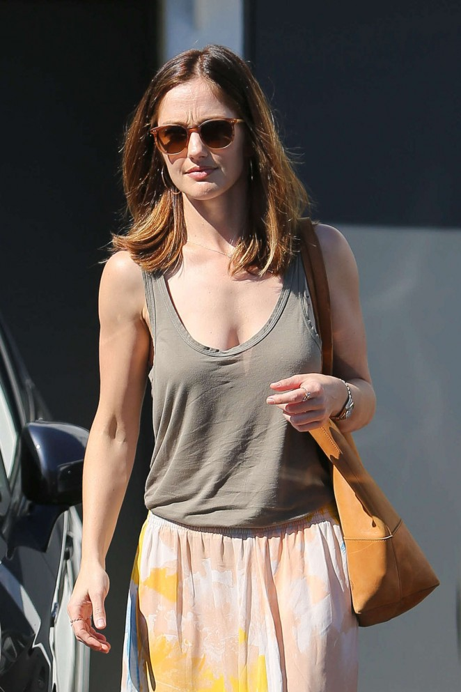 Minka Kelly Style Out in Beverly Hills