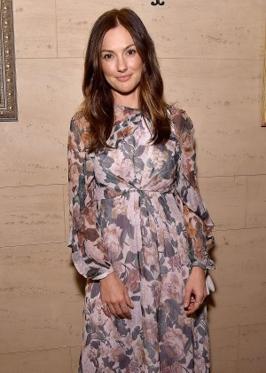 Minka Kelly - The Dinner For Equality in Beverly Hills