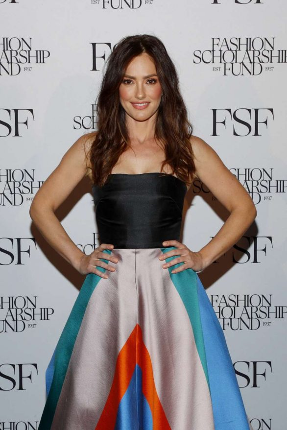 Minka Kelly - The Fashion Scholarship Fund Gala in NYC