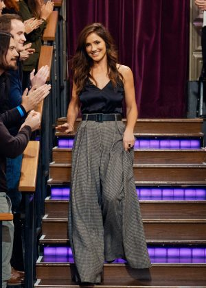 Minka Kelly - 'The Late Late Show with James Corden' in LA